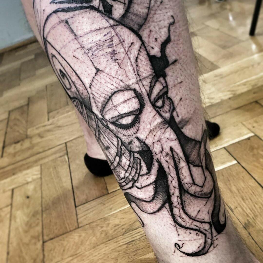 Inksearch tattoo Szczur