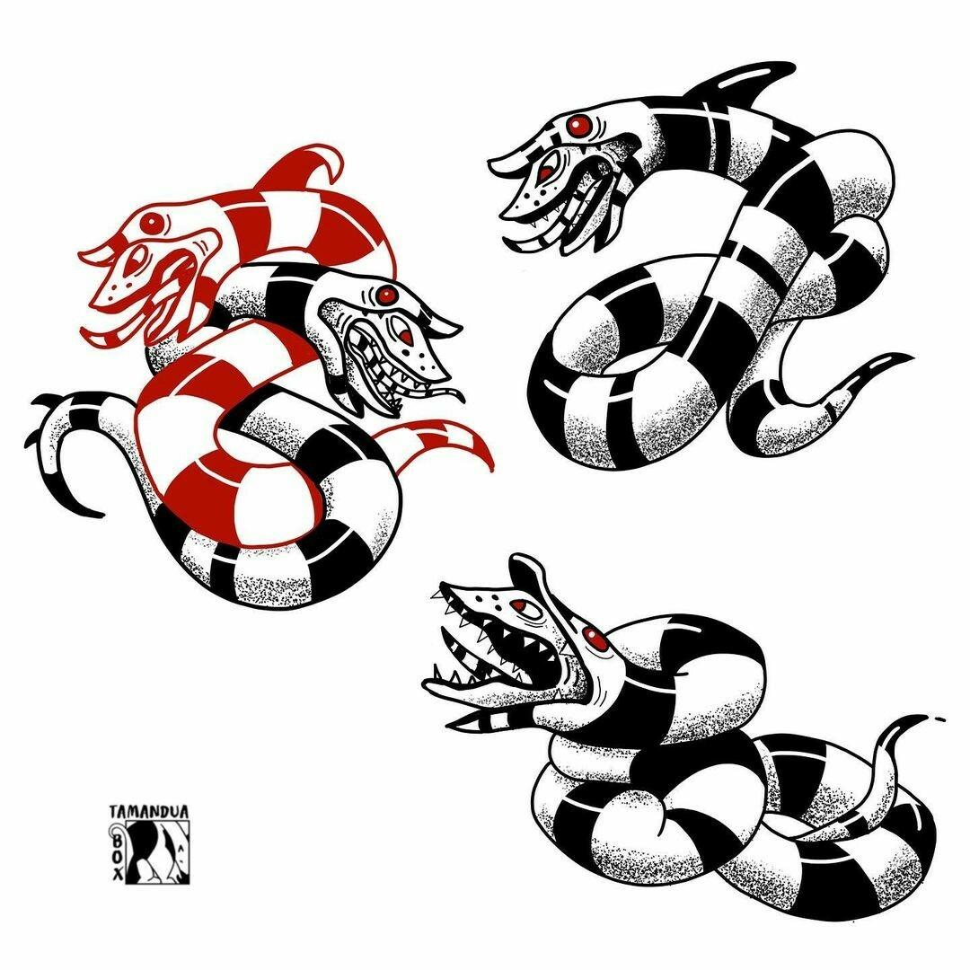 Inksearch tattoo Tamandua box