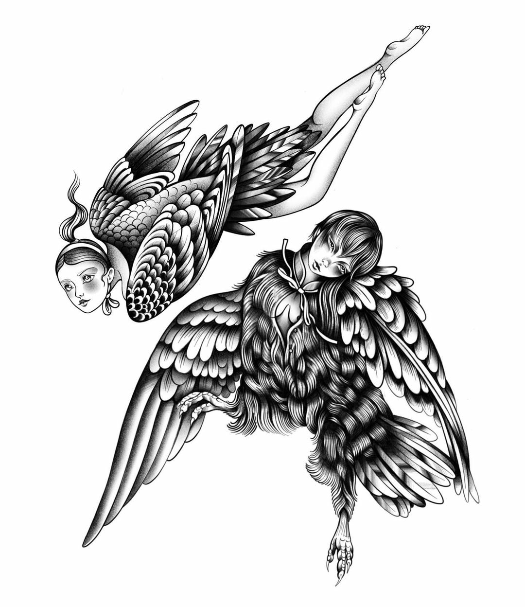 Inksearch tattoo Anna Szejdewik aka Coxie