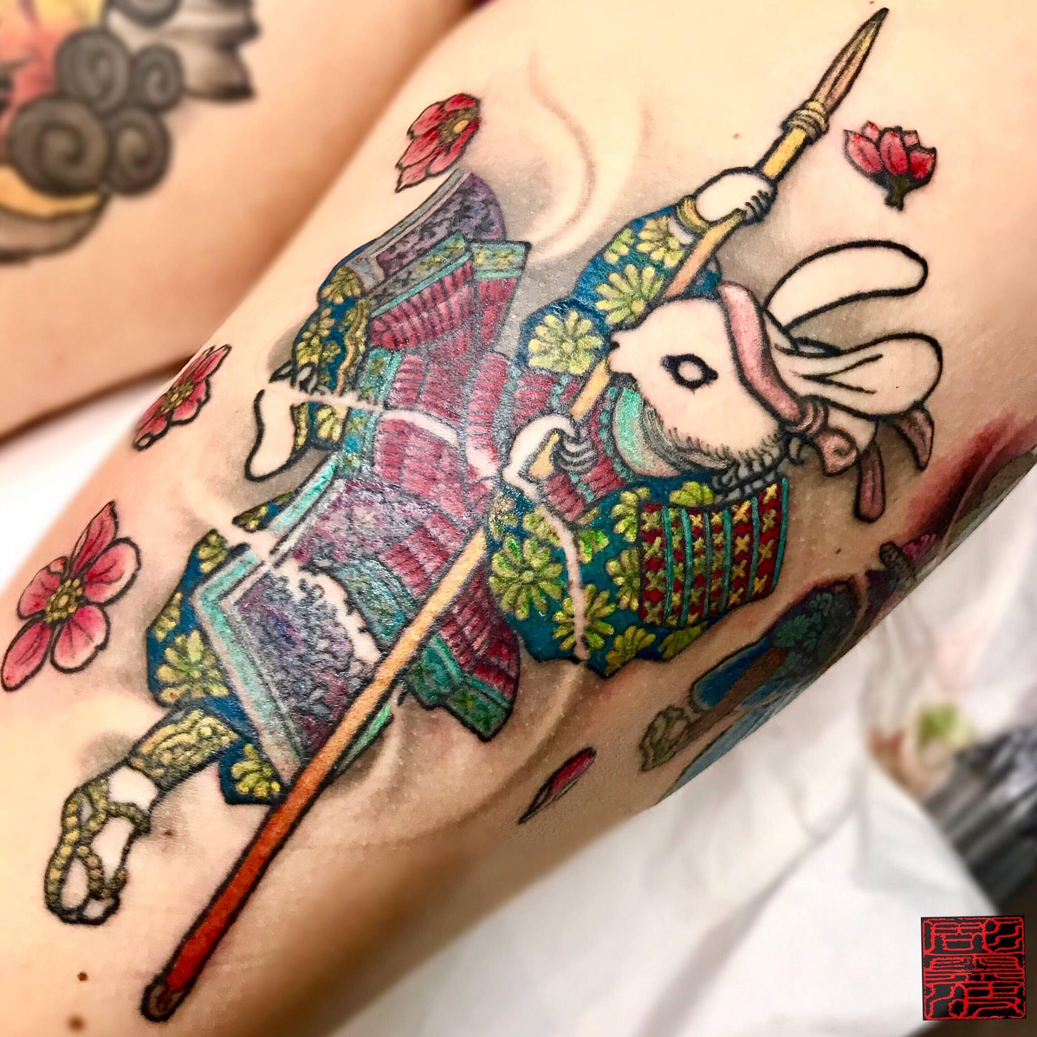 Inksearch tattoo Lepa Dinis (彫霊波)