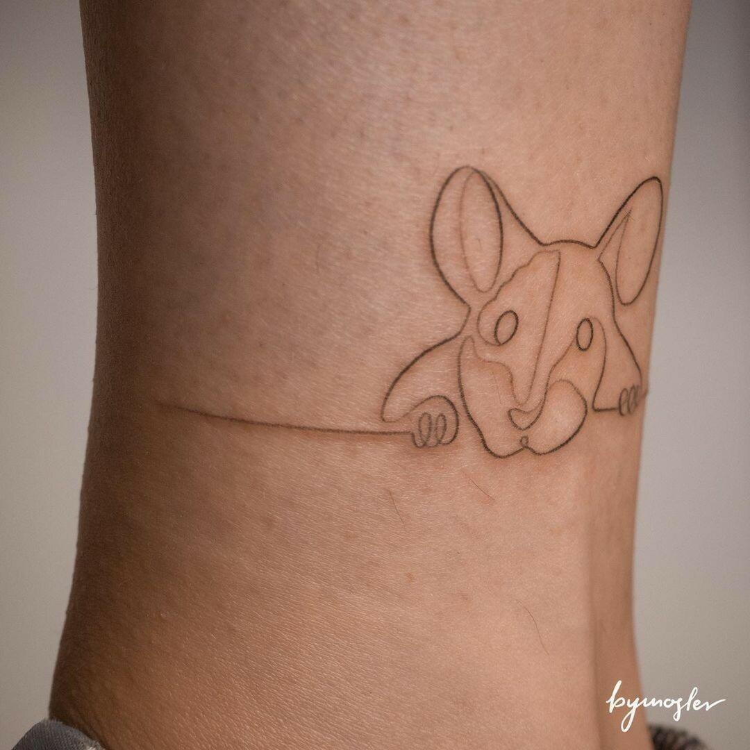 Inksearch tattoo byMosler