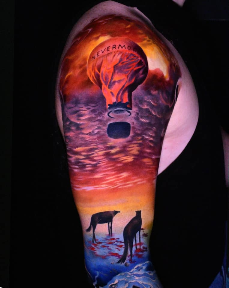 Inksearch tattoo Piotr Deadi Dedel