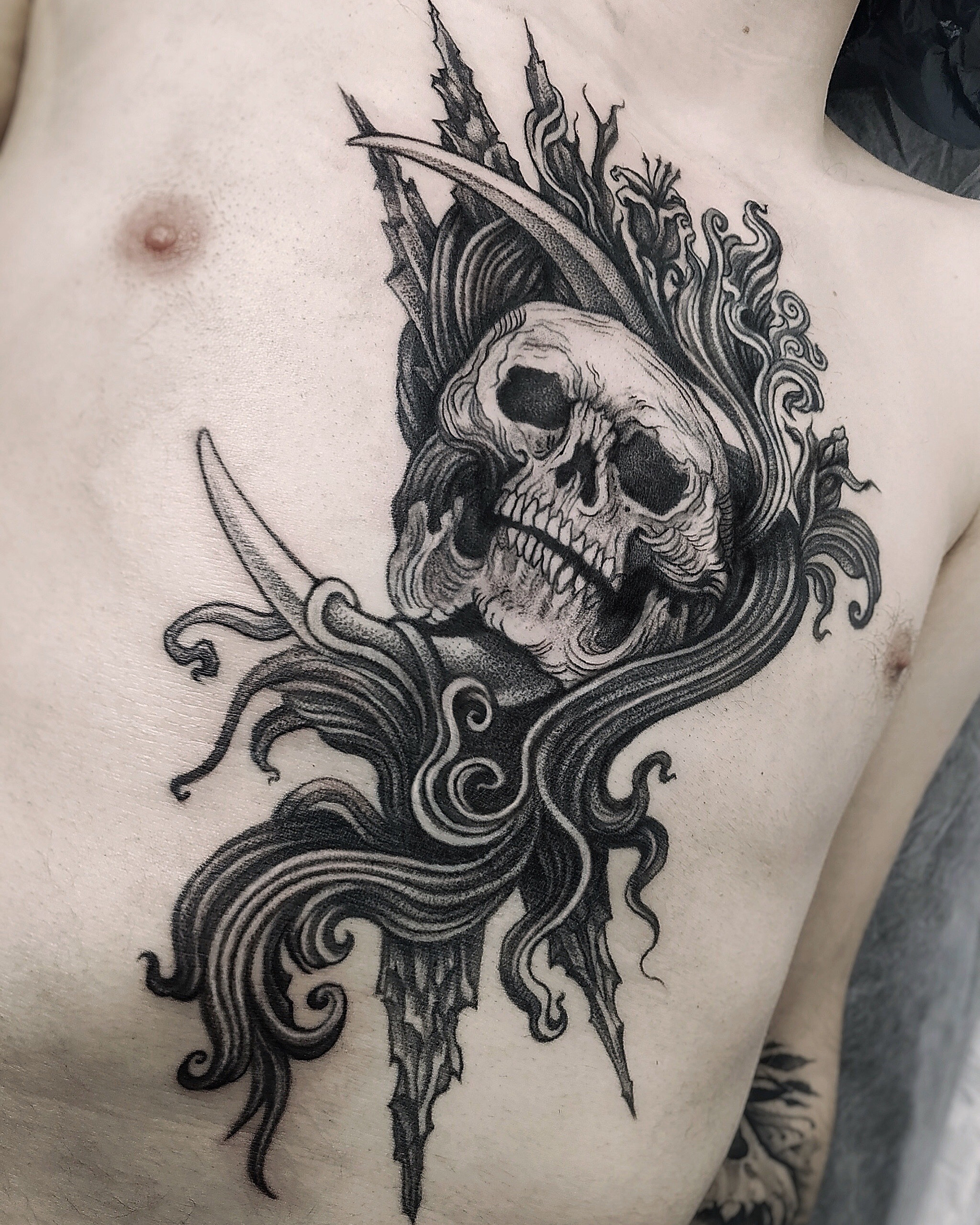 Inksearch tattoo Naphula - Sasha Adamovich