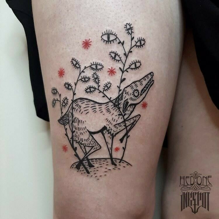 Inksearch tattoo Hedone ink