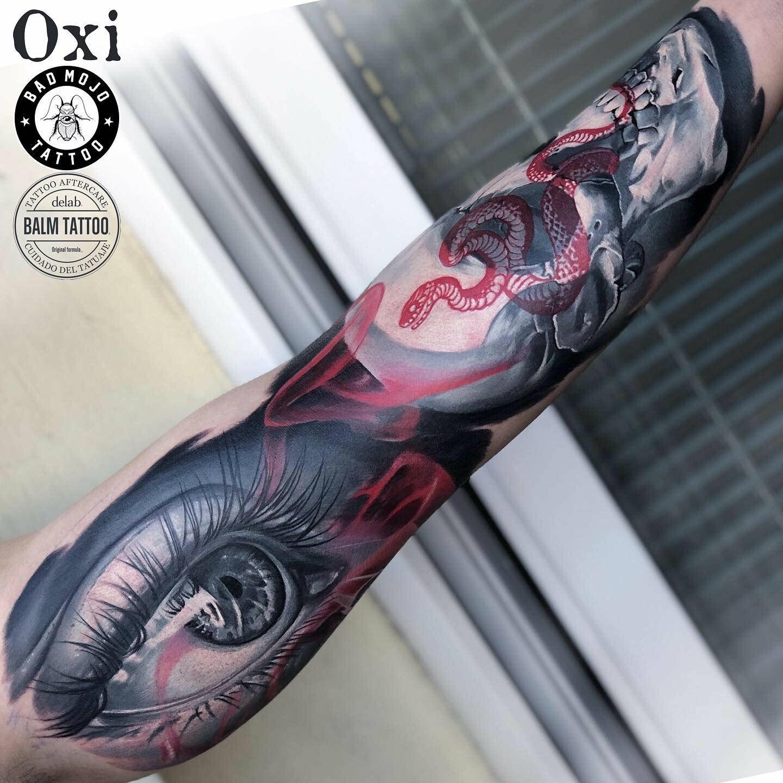 Inksearch tattoo Oxi tattoo