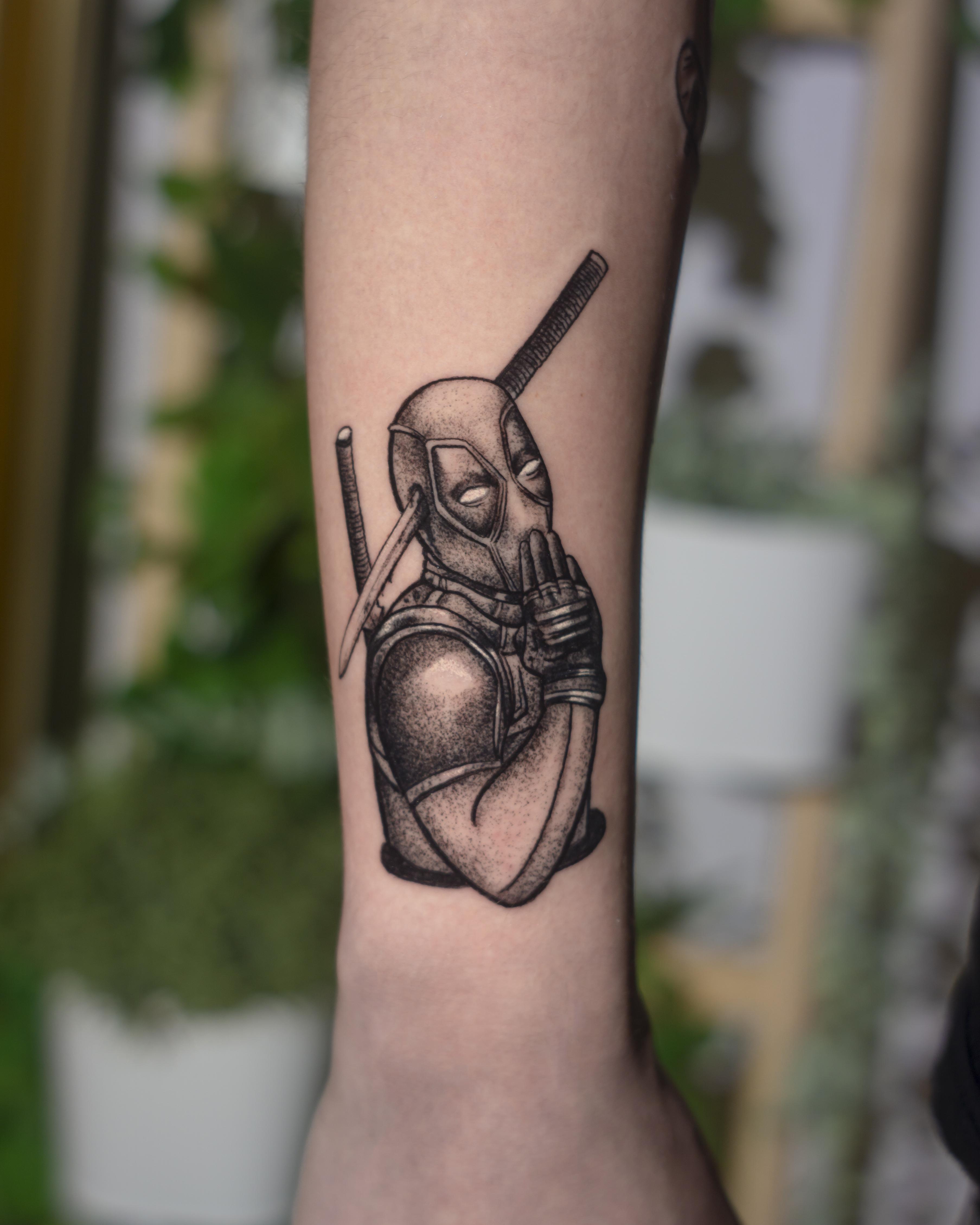 Inksearch tattoo Wściekła Blondyna
