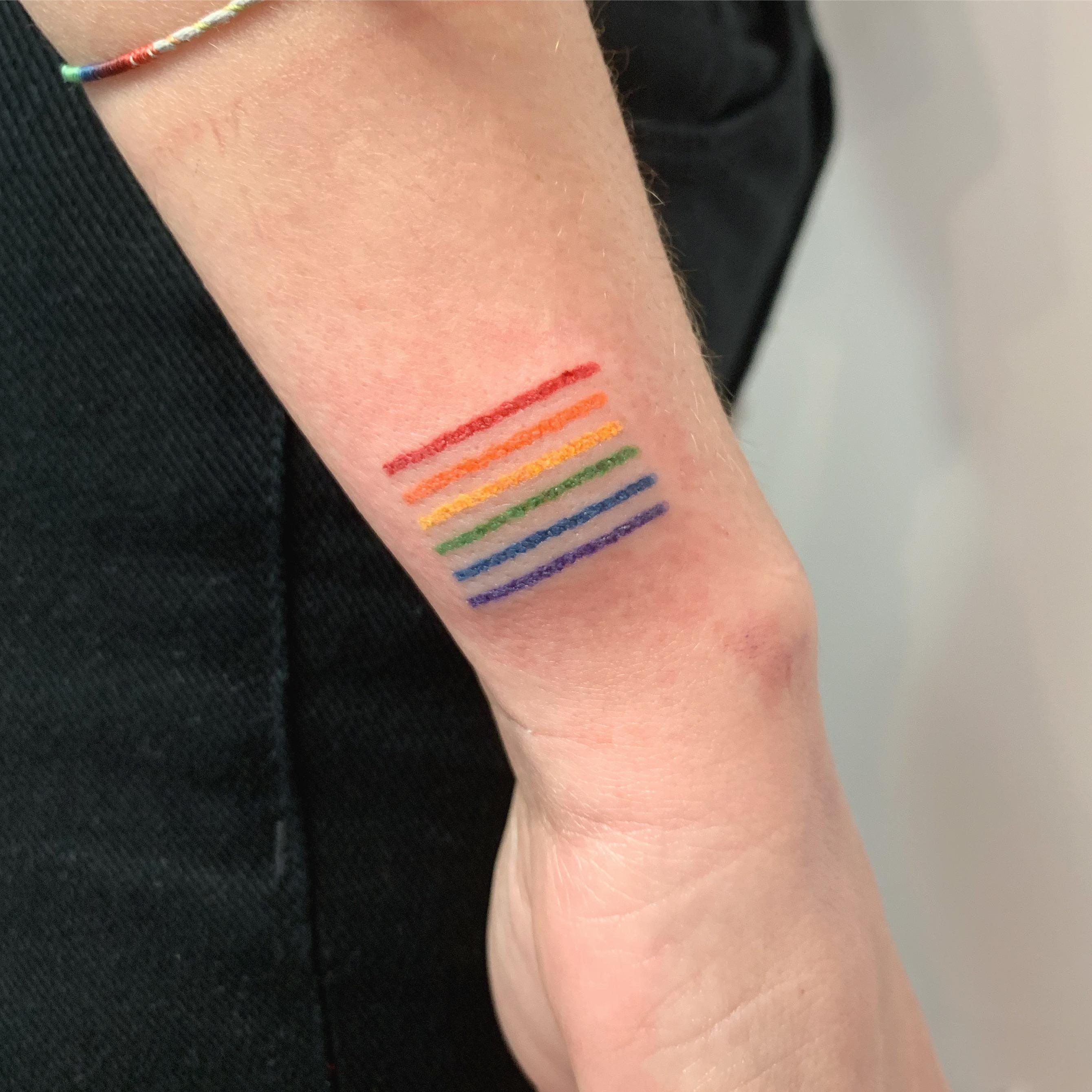 Inksearch tattoo Mniejsza Połowa