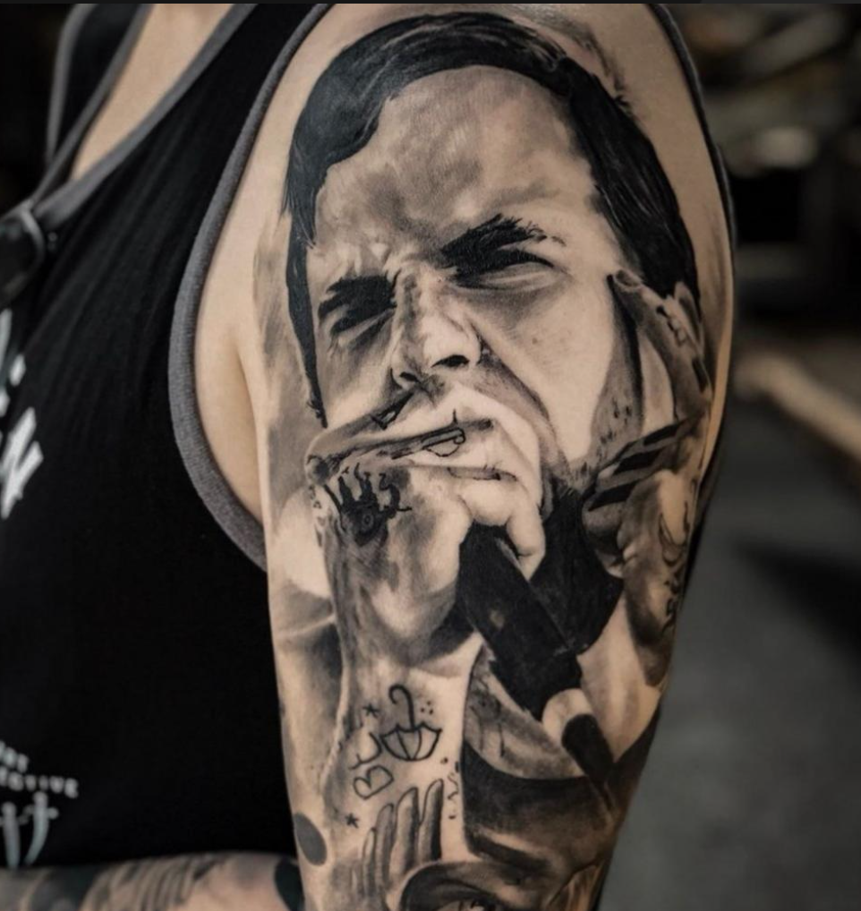 Inksearch tattoo George Inasvilis