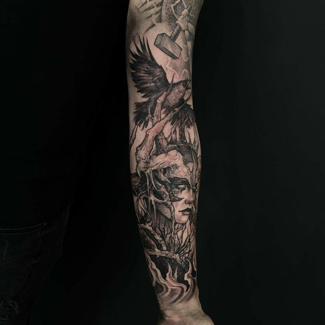 Inksearch tattoo Julita Gołębiewska