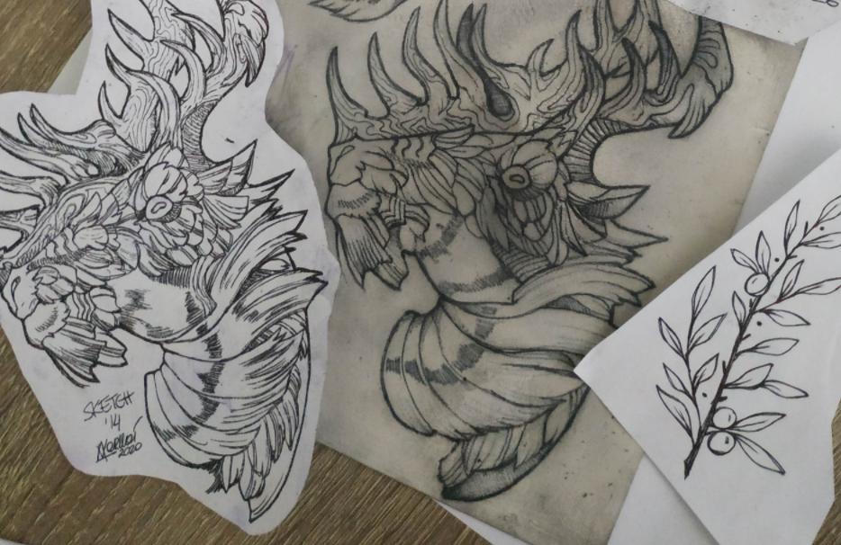 Inksearch tattoo Kaśka Varllai Daszkiewicz