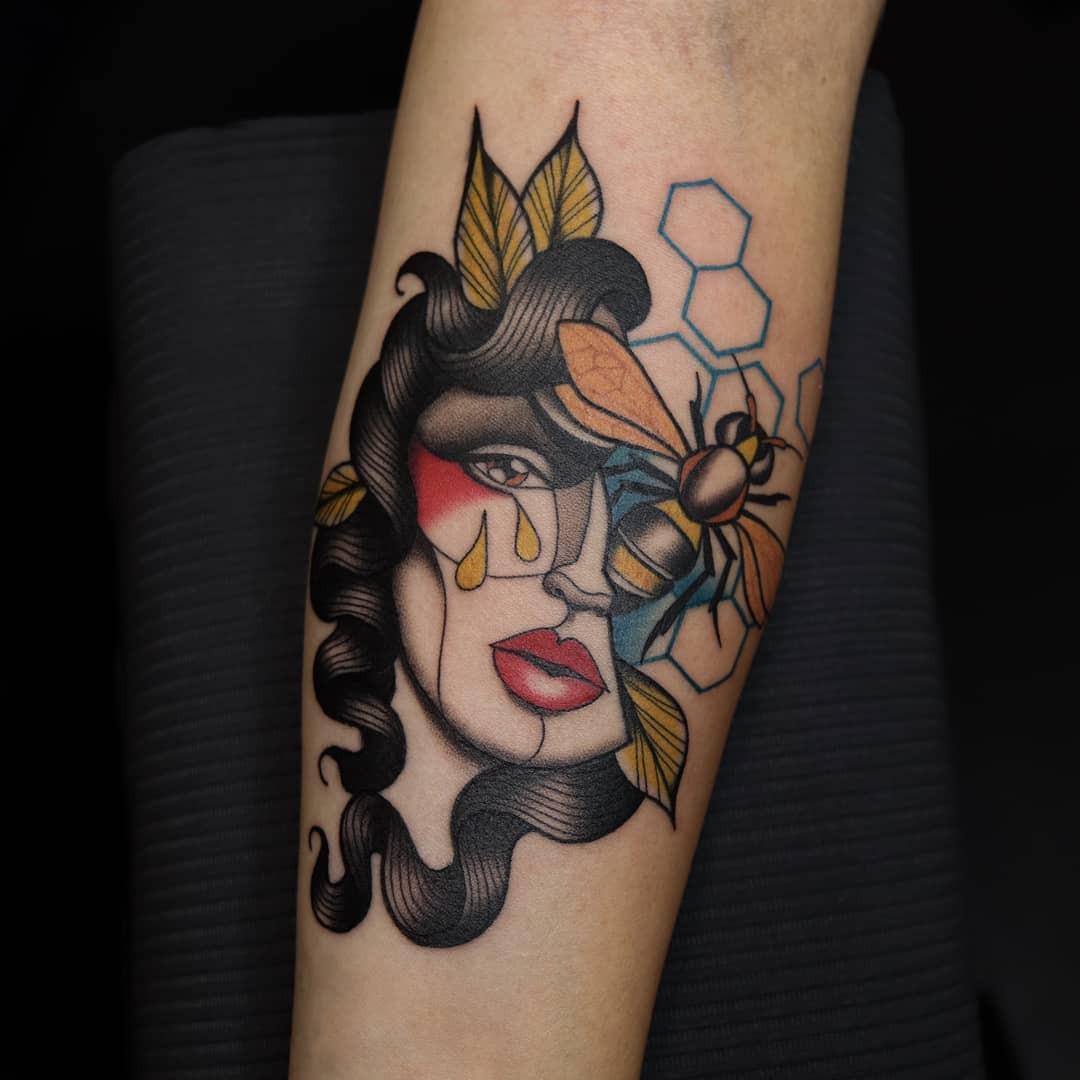 Inksearch tattoo Evel Qbiak