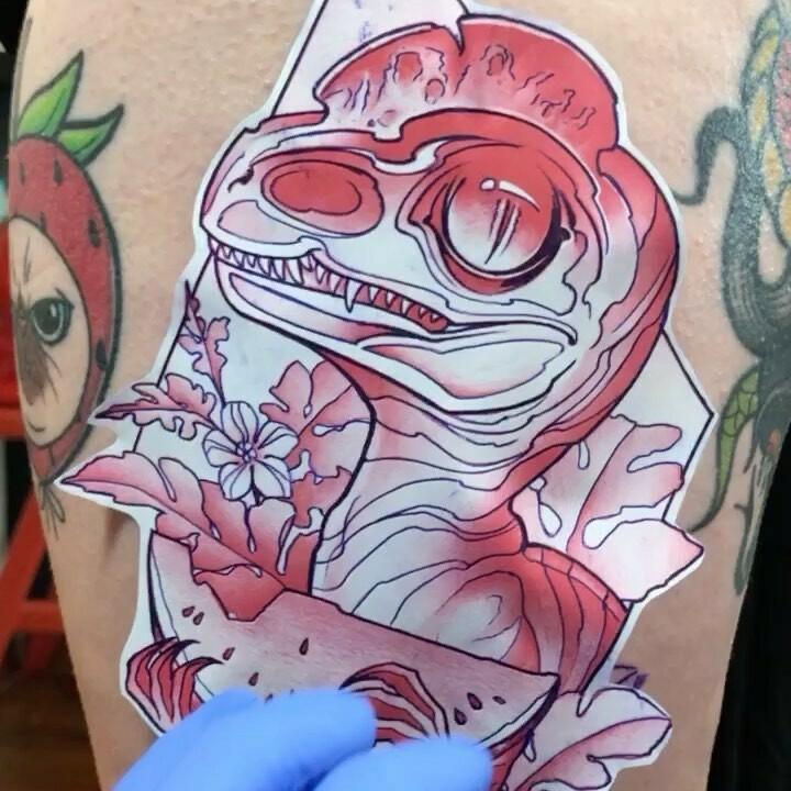 Inksearch tattoo Pink Madzilla