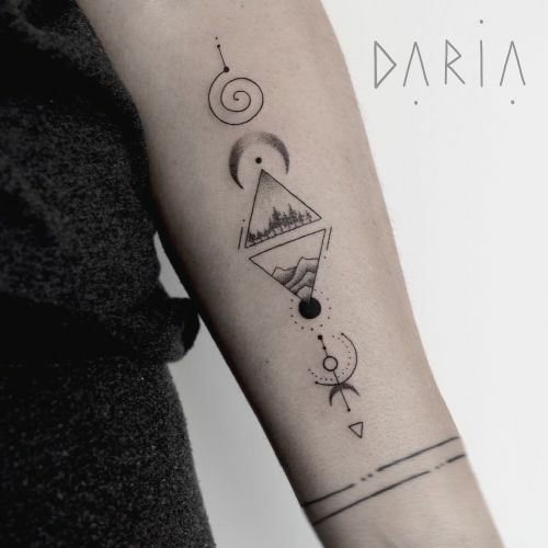 Inksearch tattoo Daria Galina