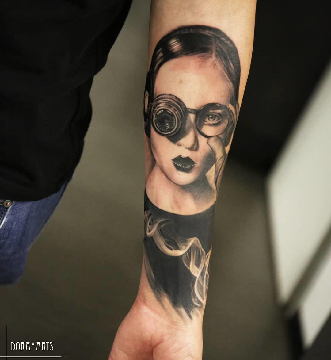 Inksearch tattoo Dora Arts