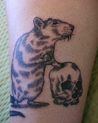 Inksearch tattoo Forsycja_tattoo