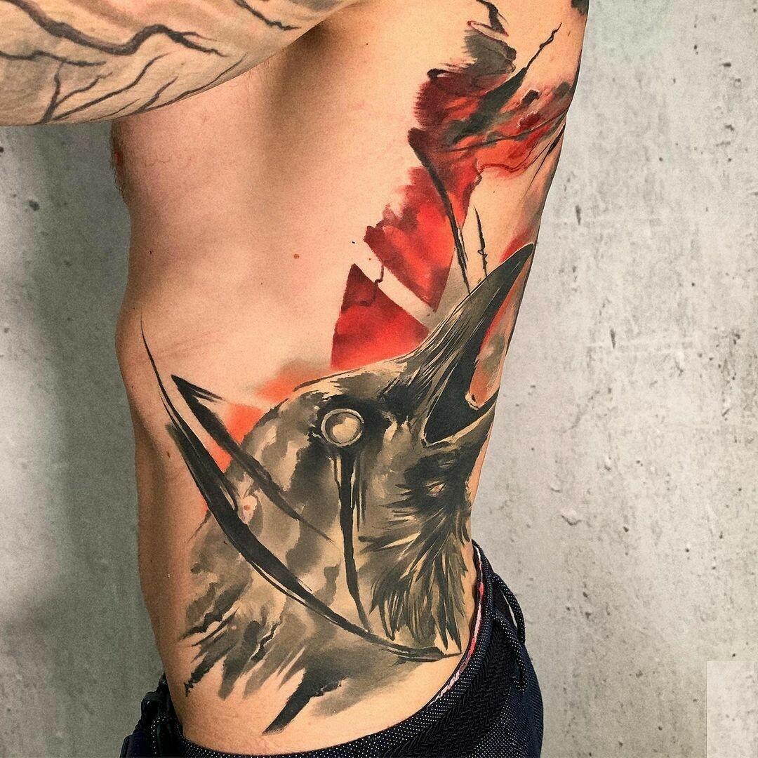 Inksearch tattoo Kazmierz Kosa Rychlikowski