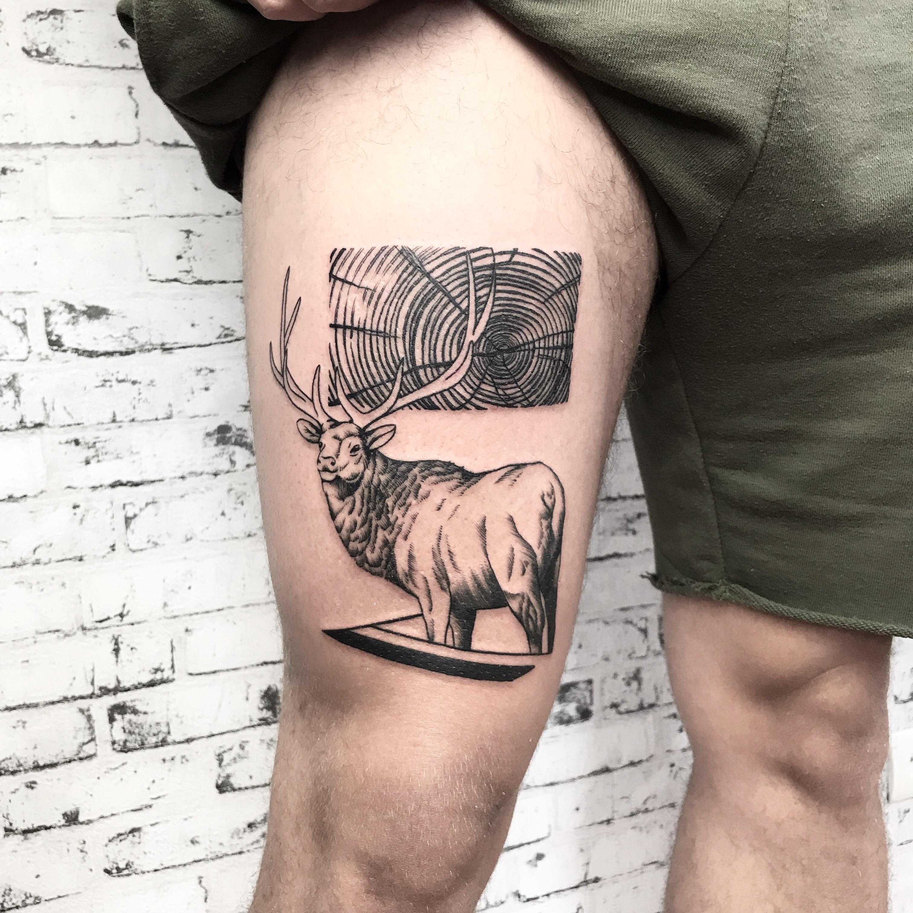 Inksearch tattoo Szogun Ciernistych Krzewów