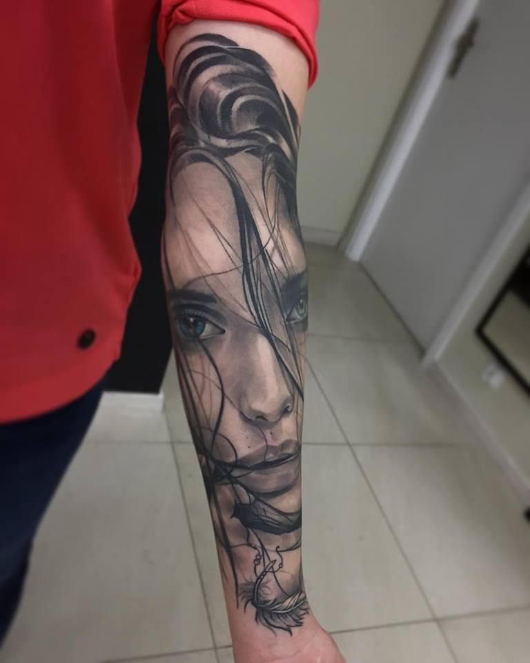 Inksearch tattoo Arek Szostak