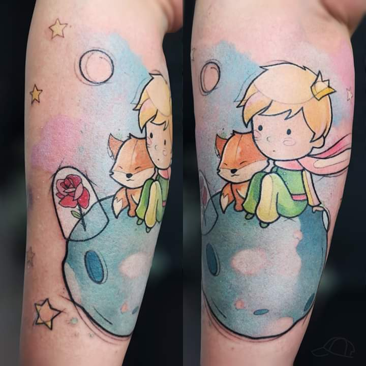 Inksearch tattoo Sara Burzyńska - Feral Child