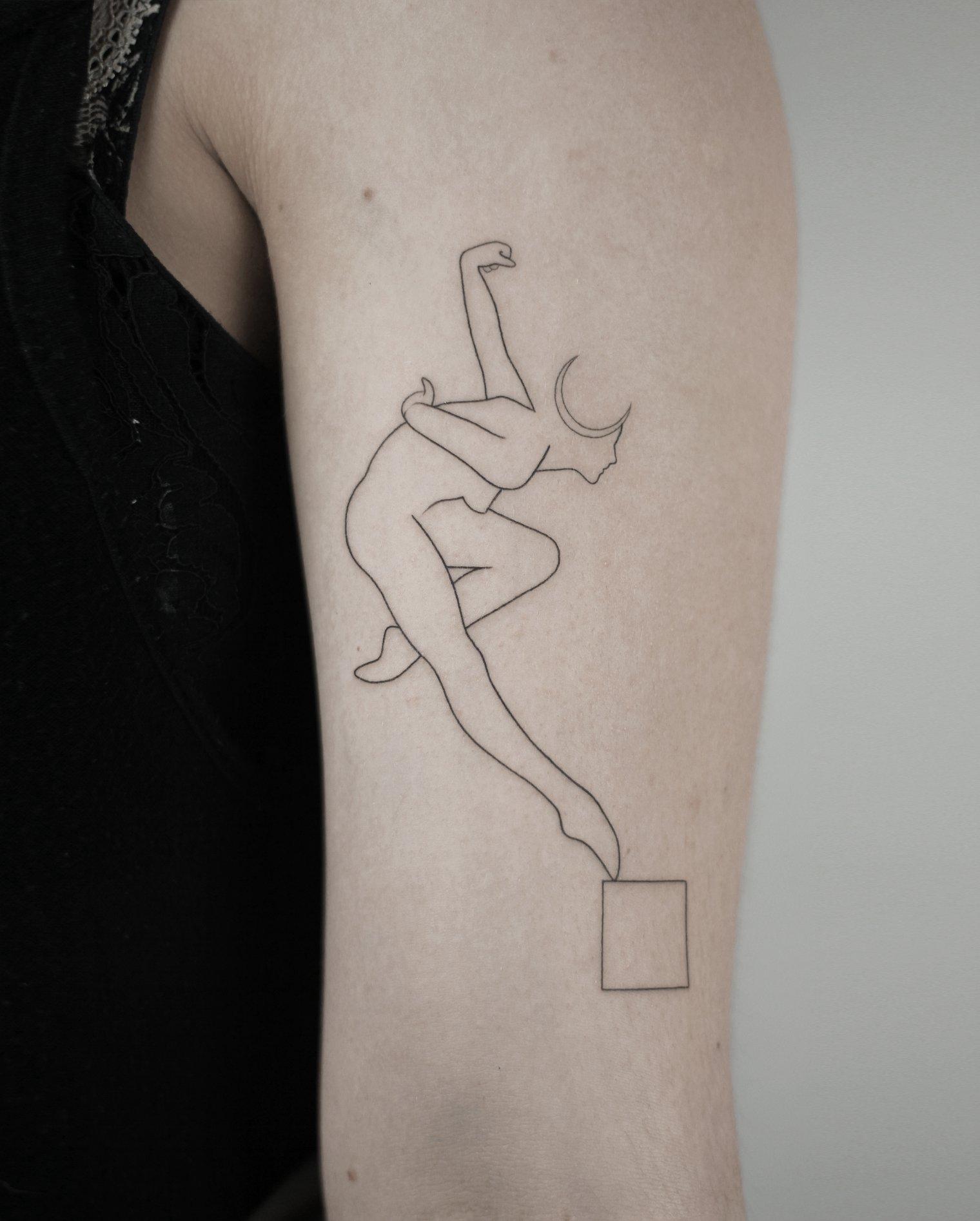 Inksearch tattoo Dawid Szubert