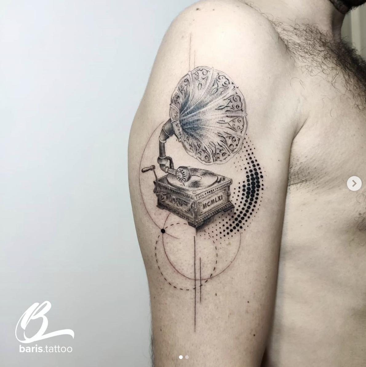 Inksearch tattoo Barış Öztekin