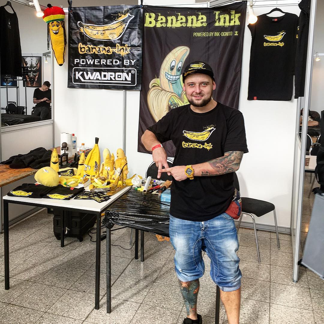 Inksearch tattoo Banana INK