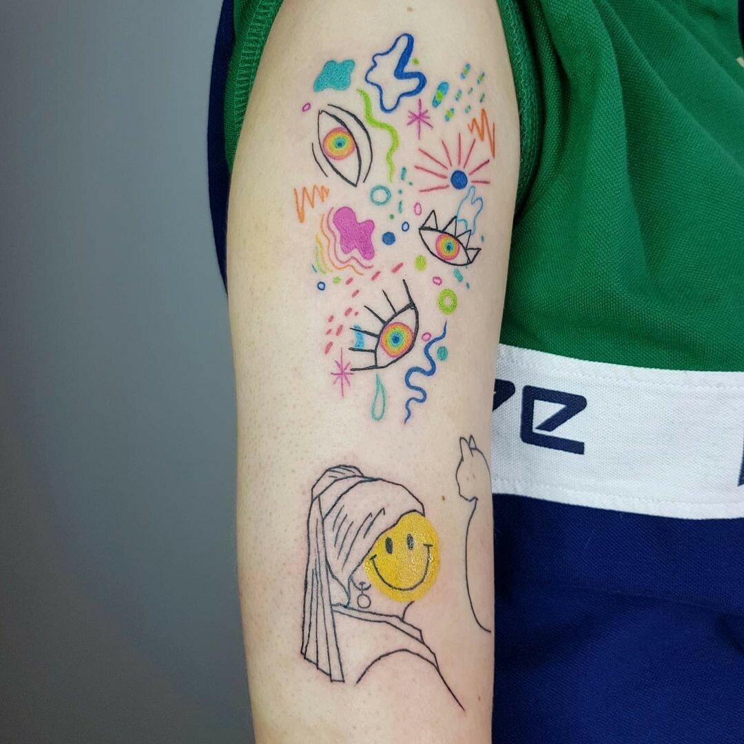 Inksearch tattoo Okurde tatu
