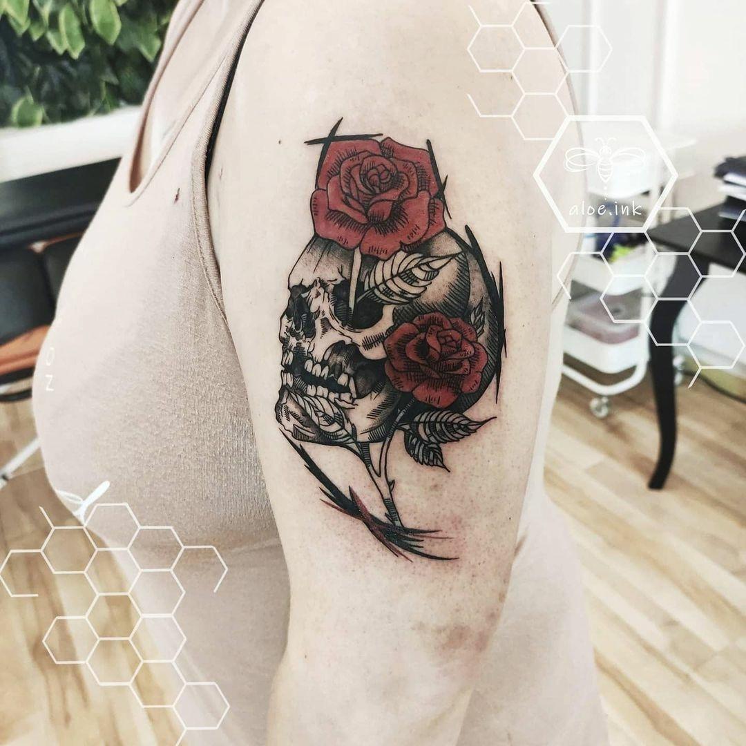 Inksearch tattoo Aloe Ink