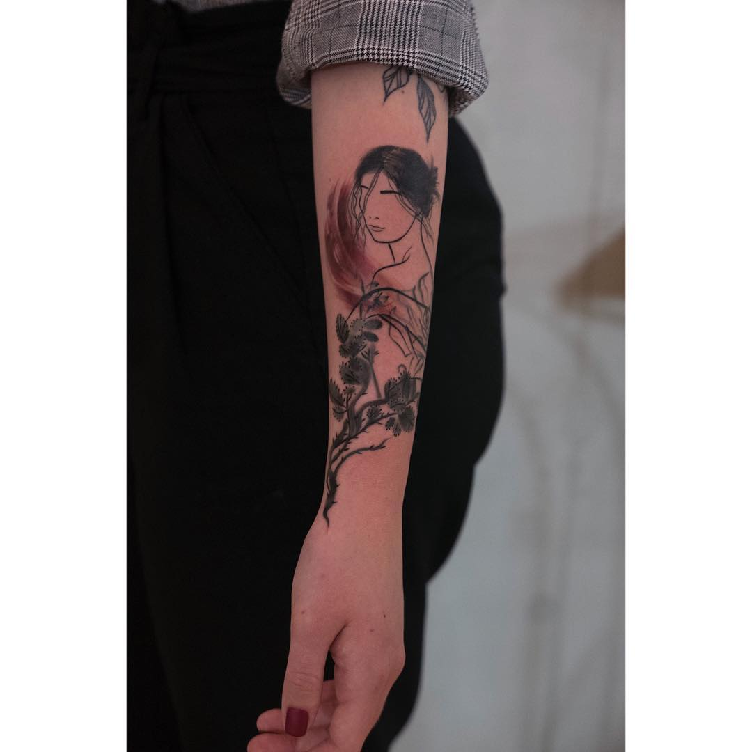 Inksearch tattoo Marta Szumigaj