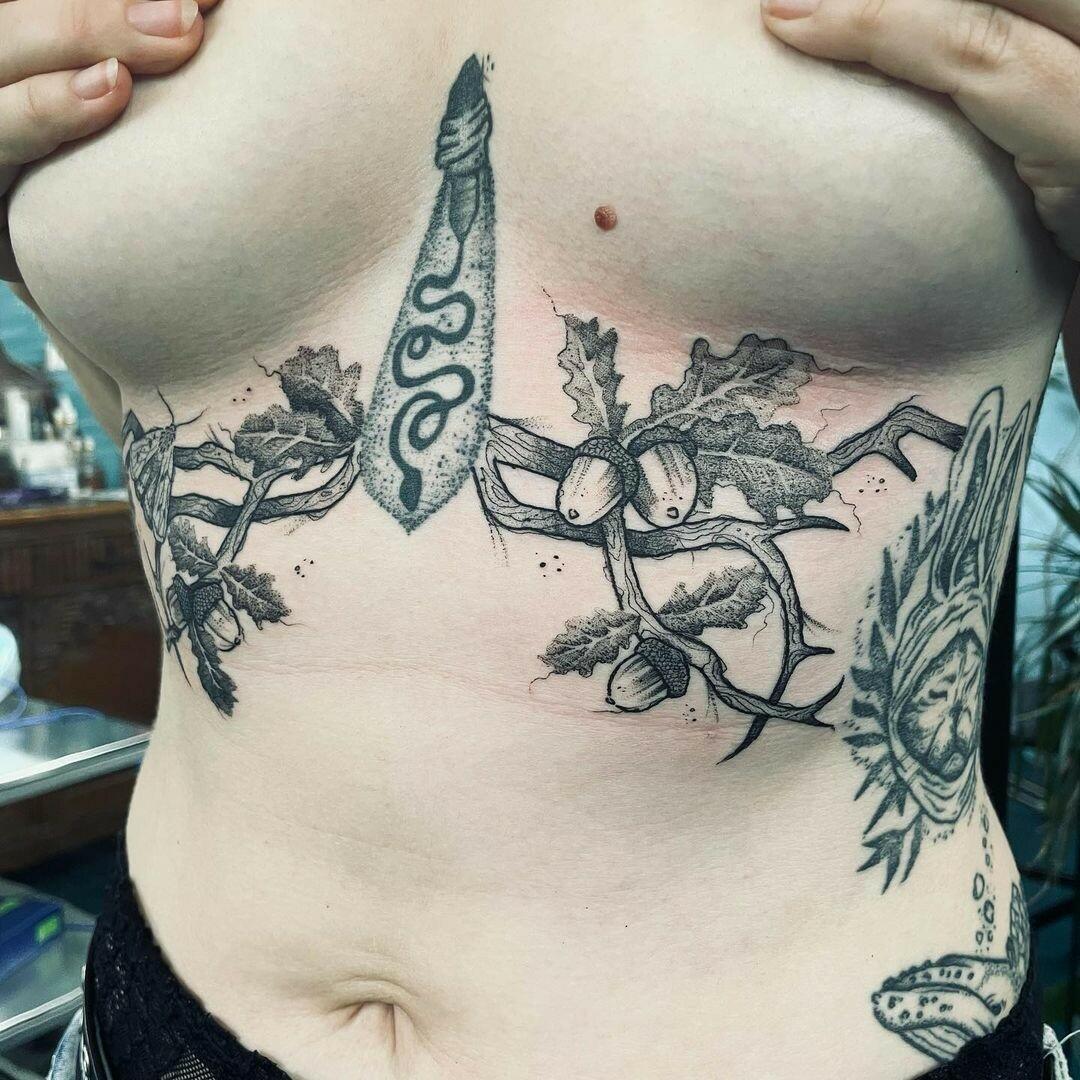 Inksearch tattoo Daria Zoe Dąbrowska
