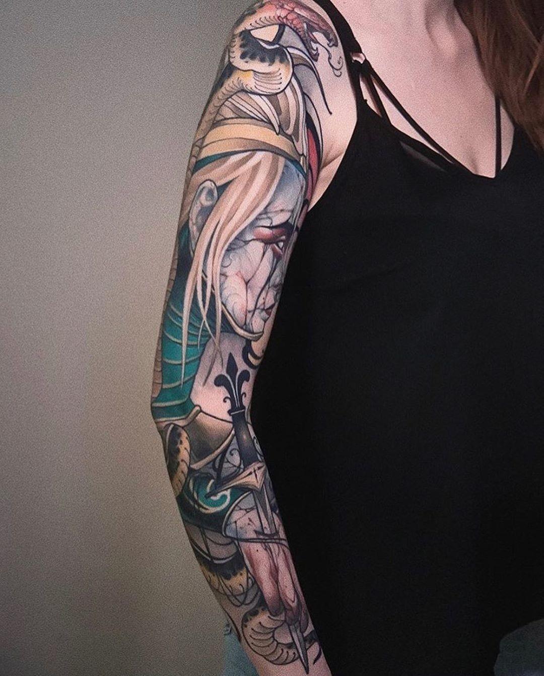 Inksearch tattoo Szron Poznań