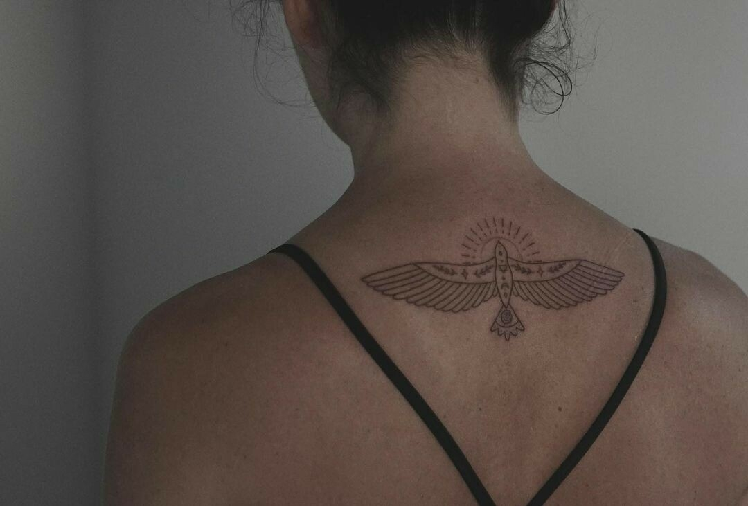 Inksearch tattoo Baba na Rowerze Tattoo