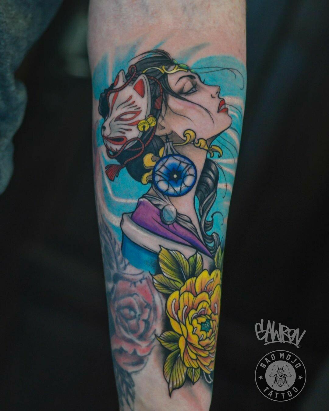 Inksearch tattoo Gawron