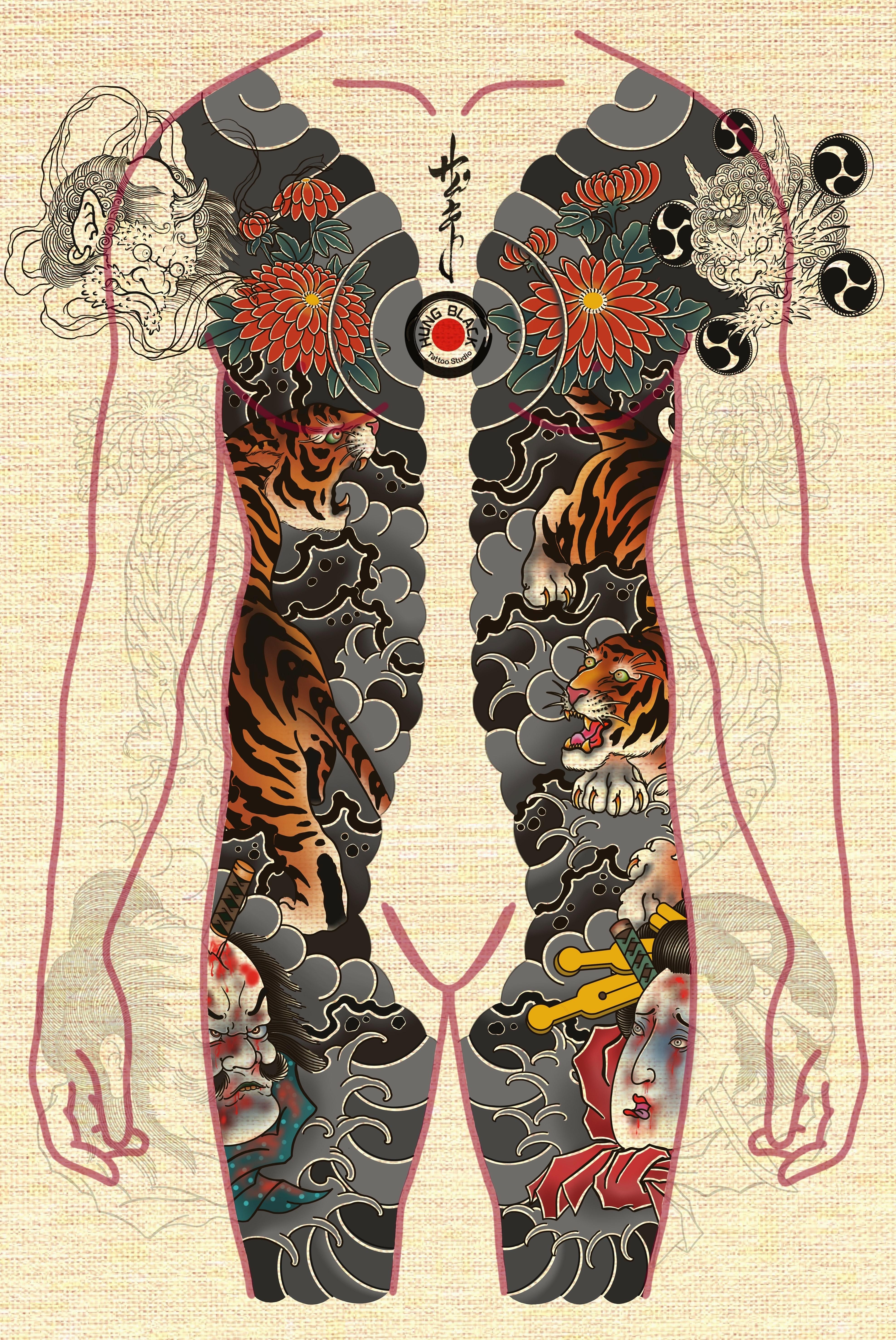 Inksearch tattoo Hung
