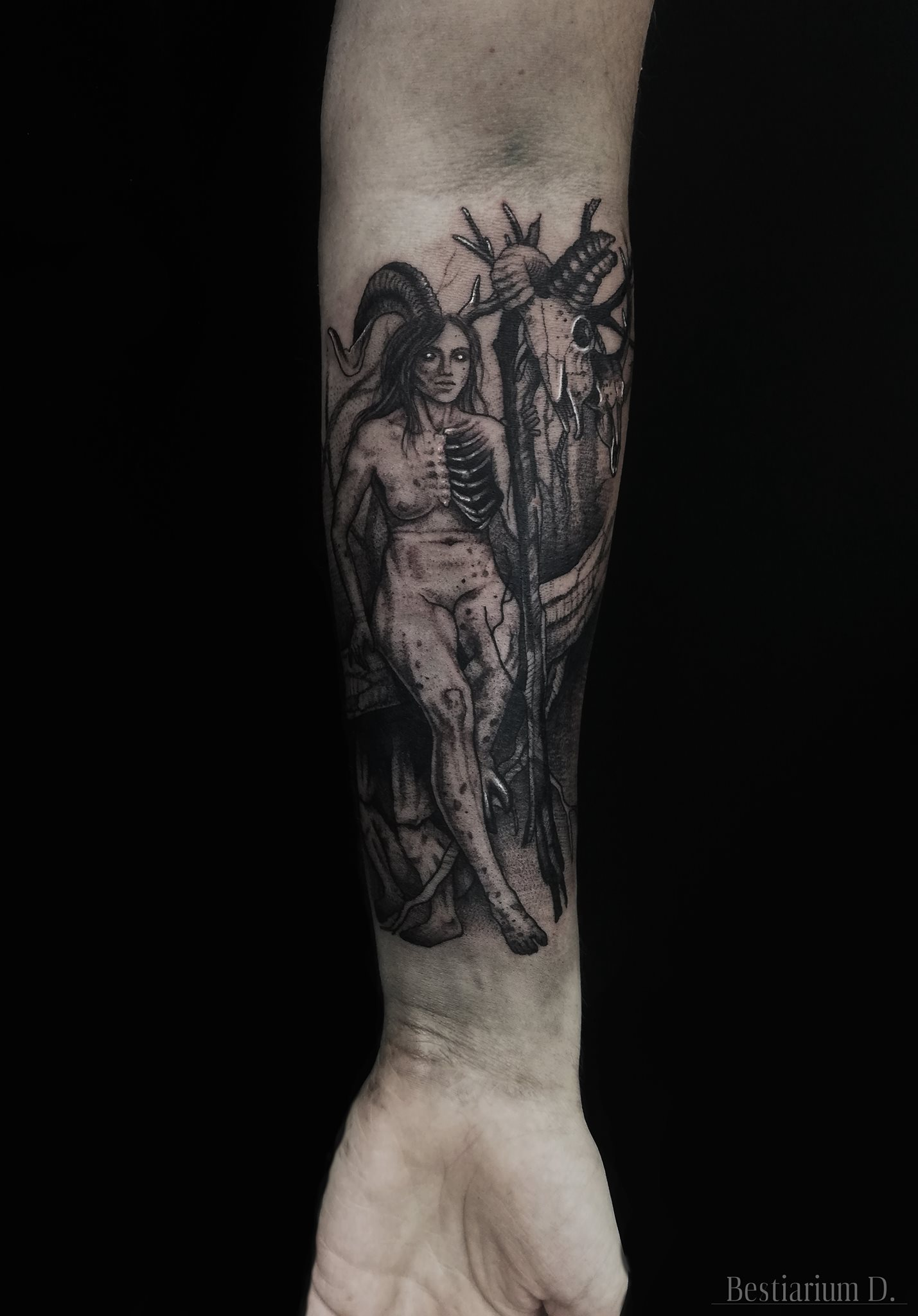 Inksearch tattoo Dorota Iwaniuk - Bestiarium D.