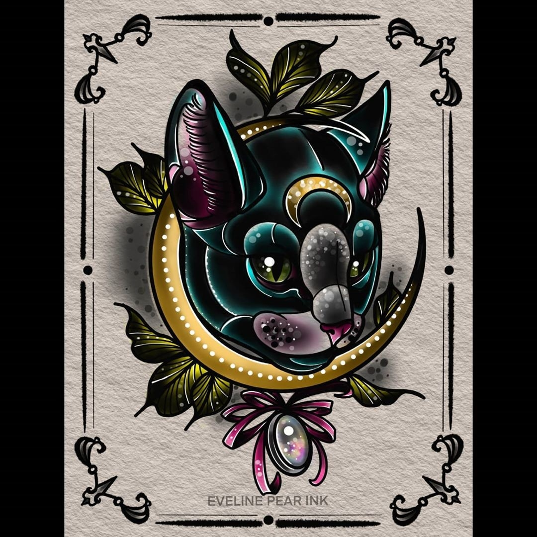 Inksearch tattoo Eveline Pear Ink