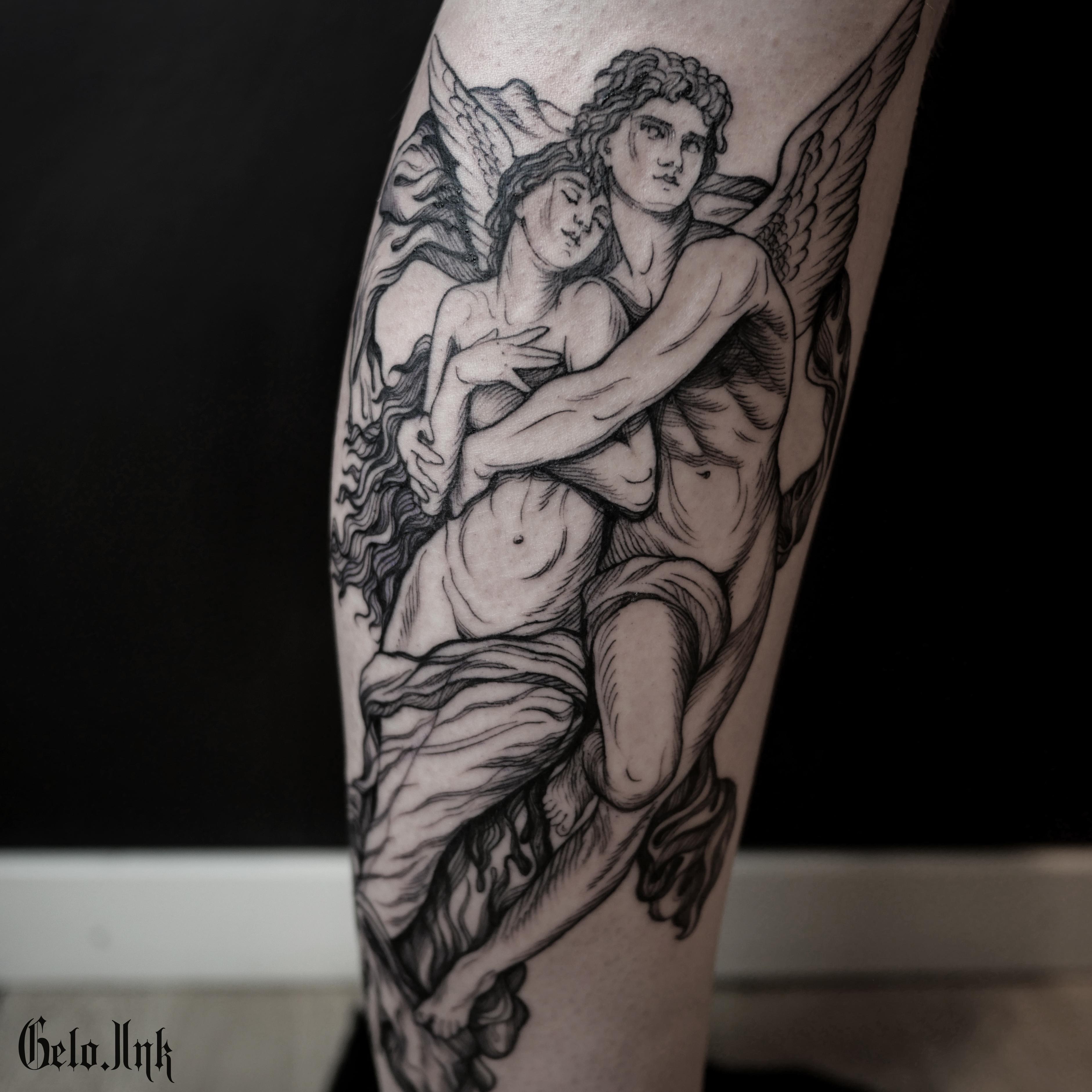 Inksearch tattoo Angelina