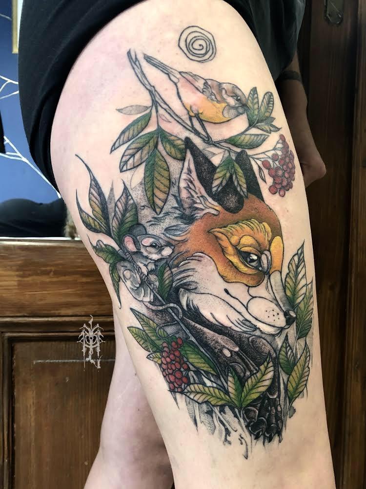 Inksearch tattoo Małe Licho