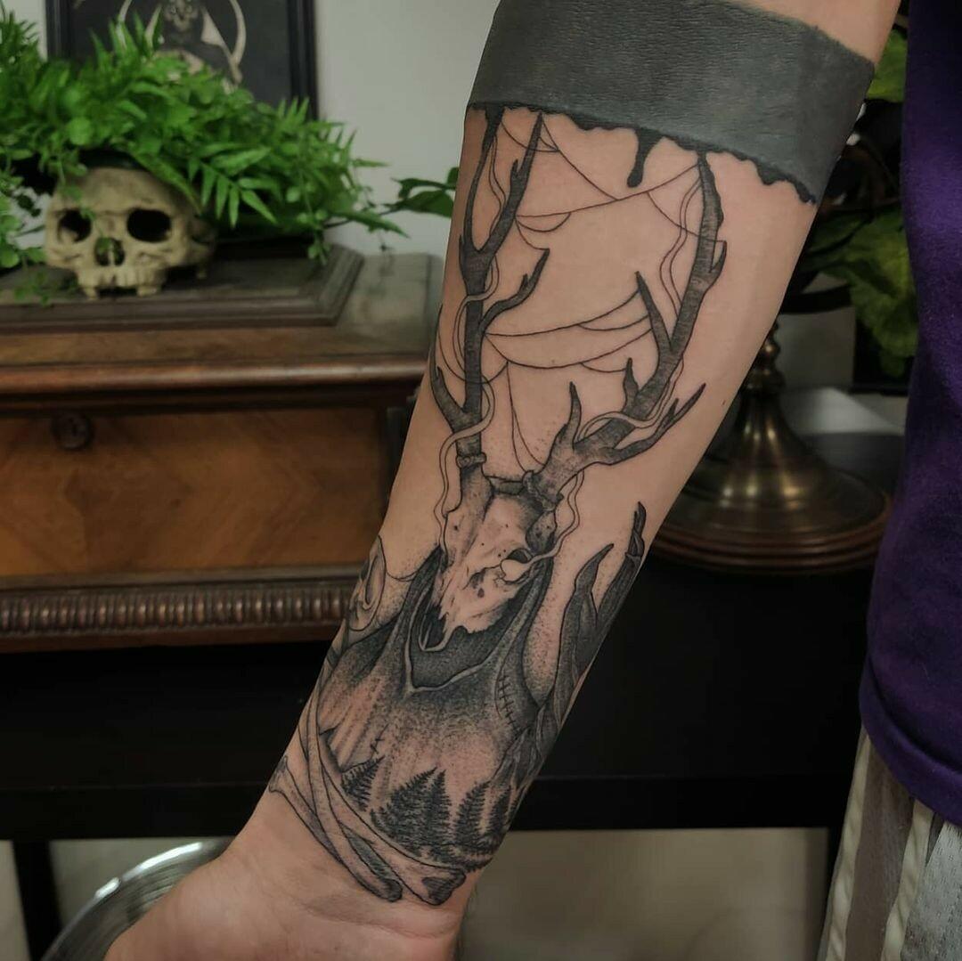 Inksearch tattoo Bizon tattoo