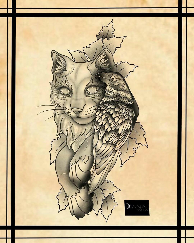Inksearch tattoo Diana tattoo