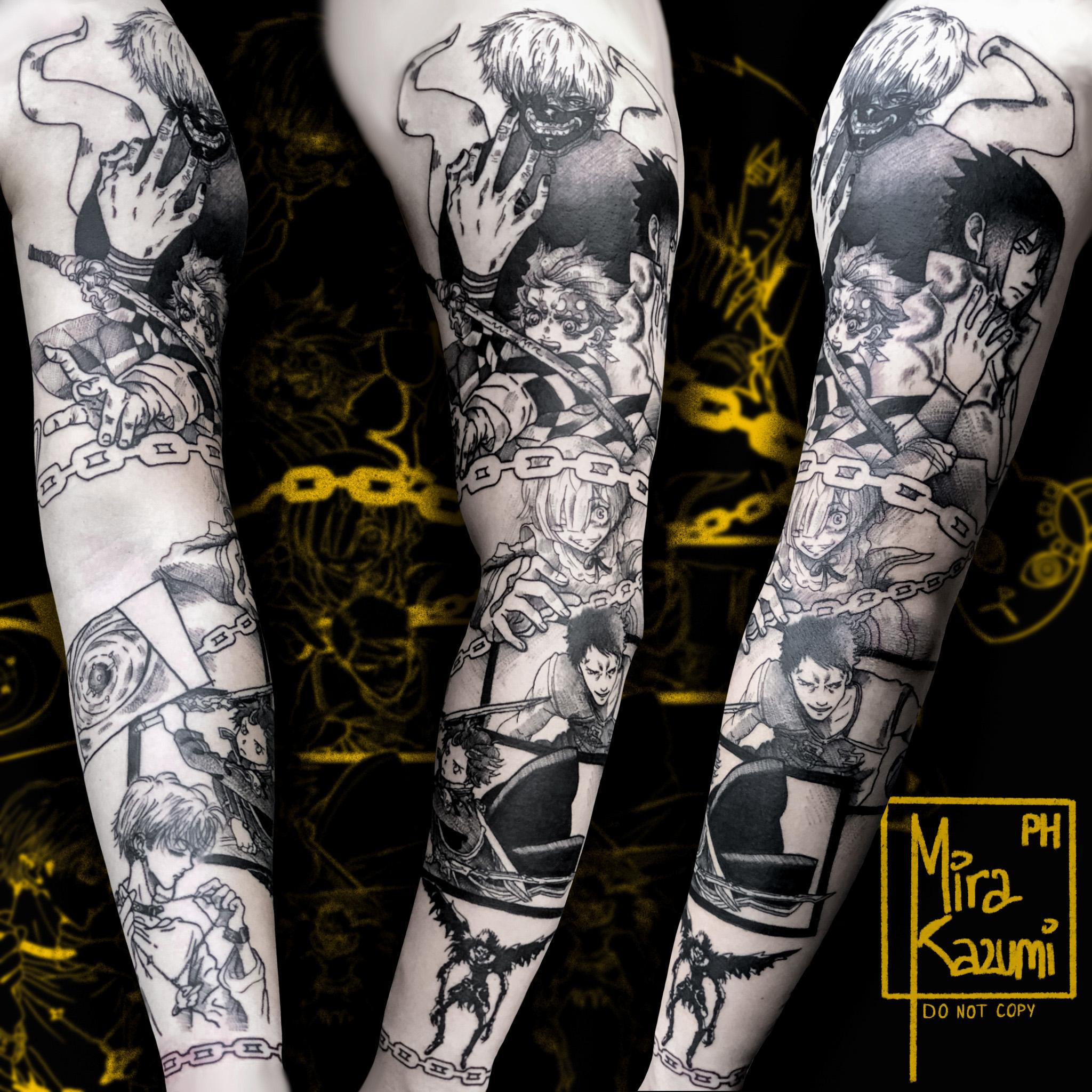 Inksearch tattoo Mira Kazumi