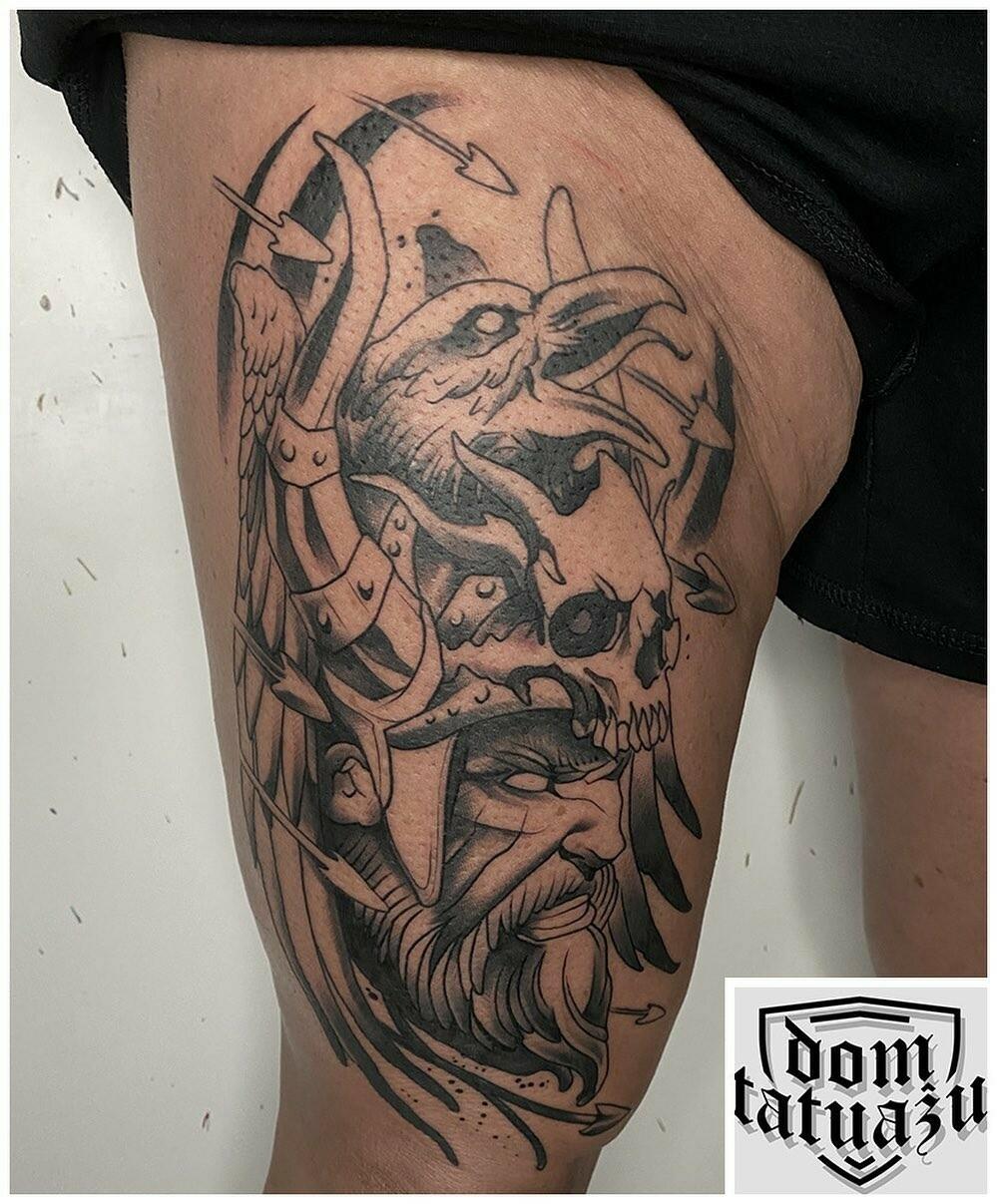 Inksearch tattoo Dom tatuażu