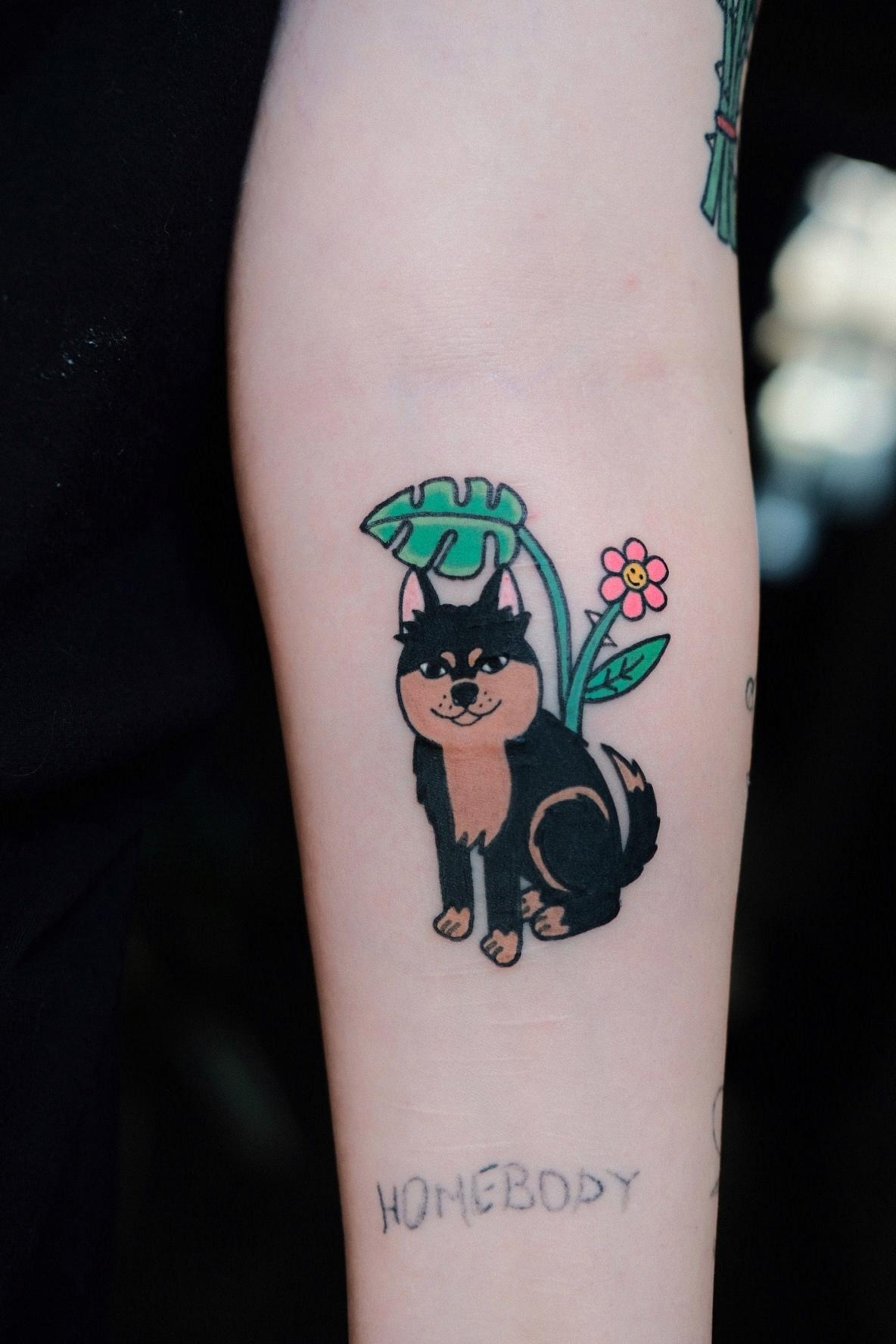Inksearch tattoo Glossy Future
