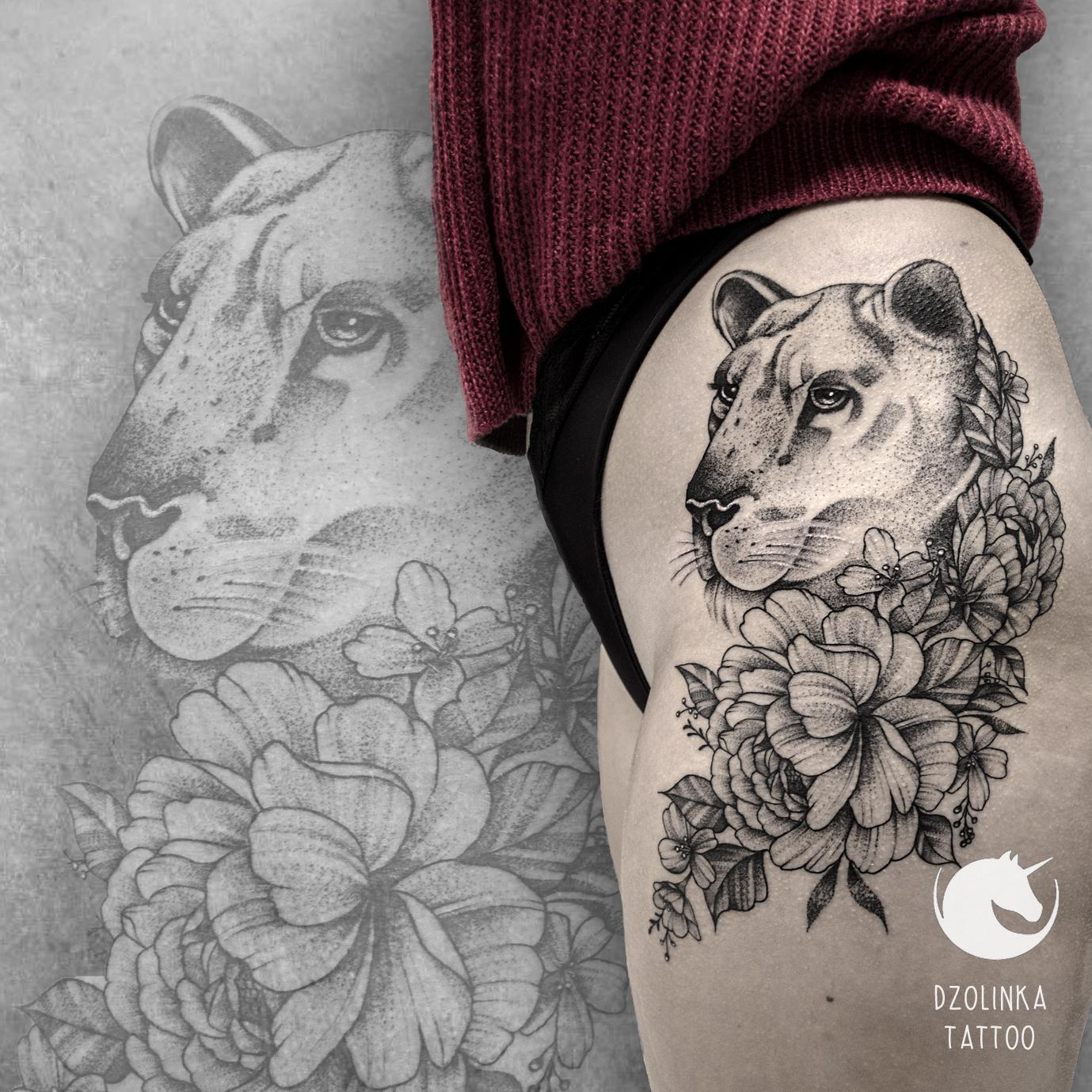 Inksearch tattoo DZOLINKA TATTOO