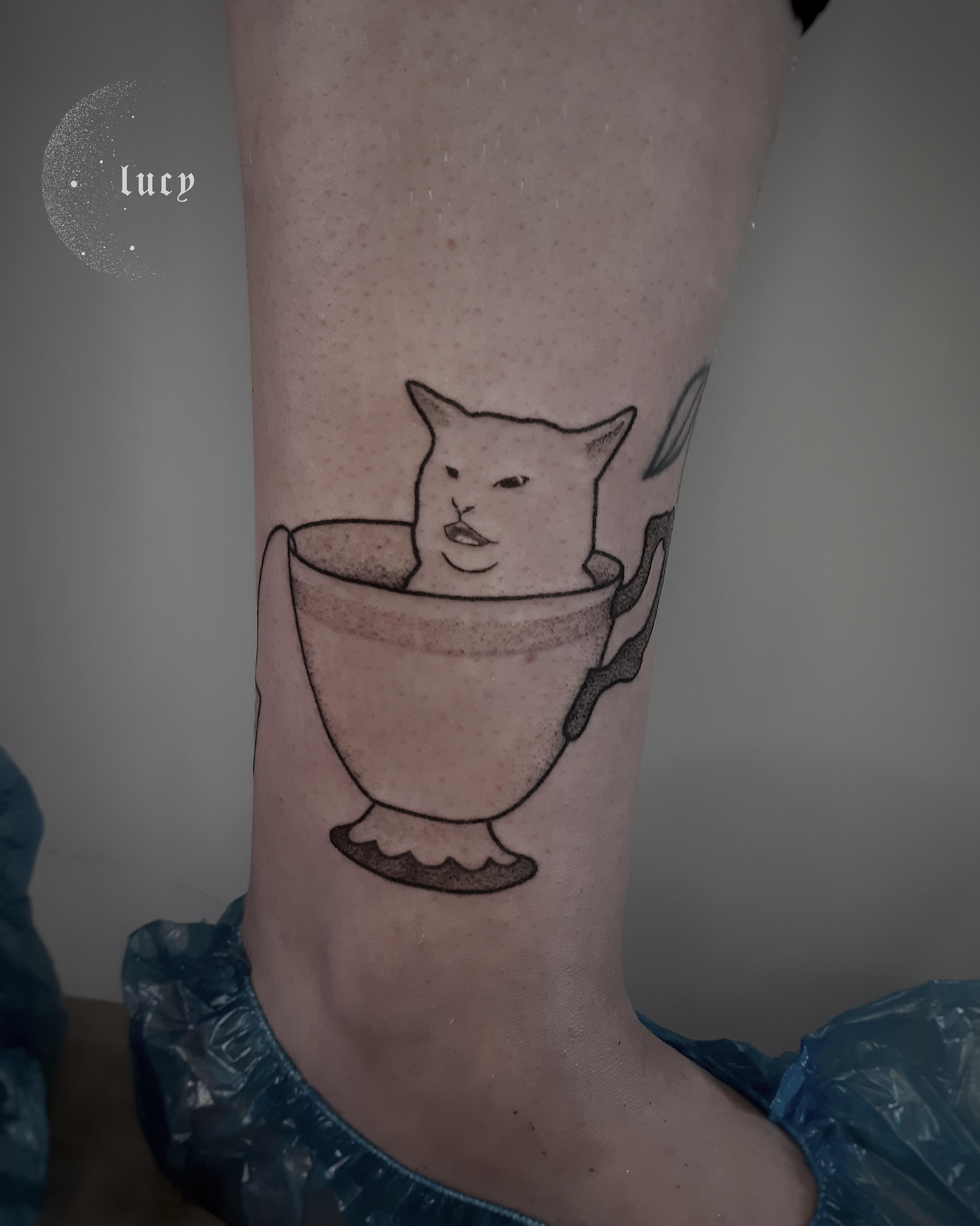 Inksearch tattoo Lucy_handpoke