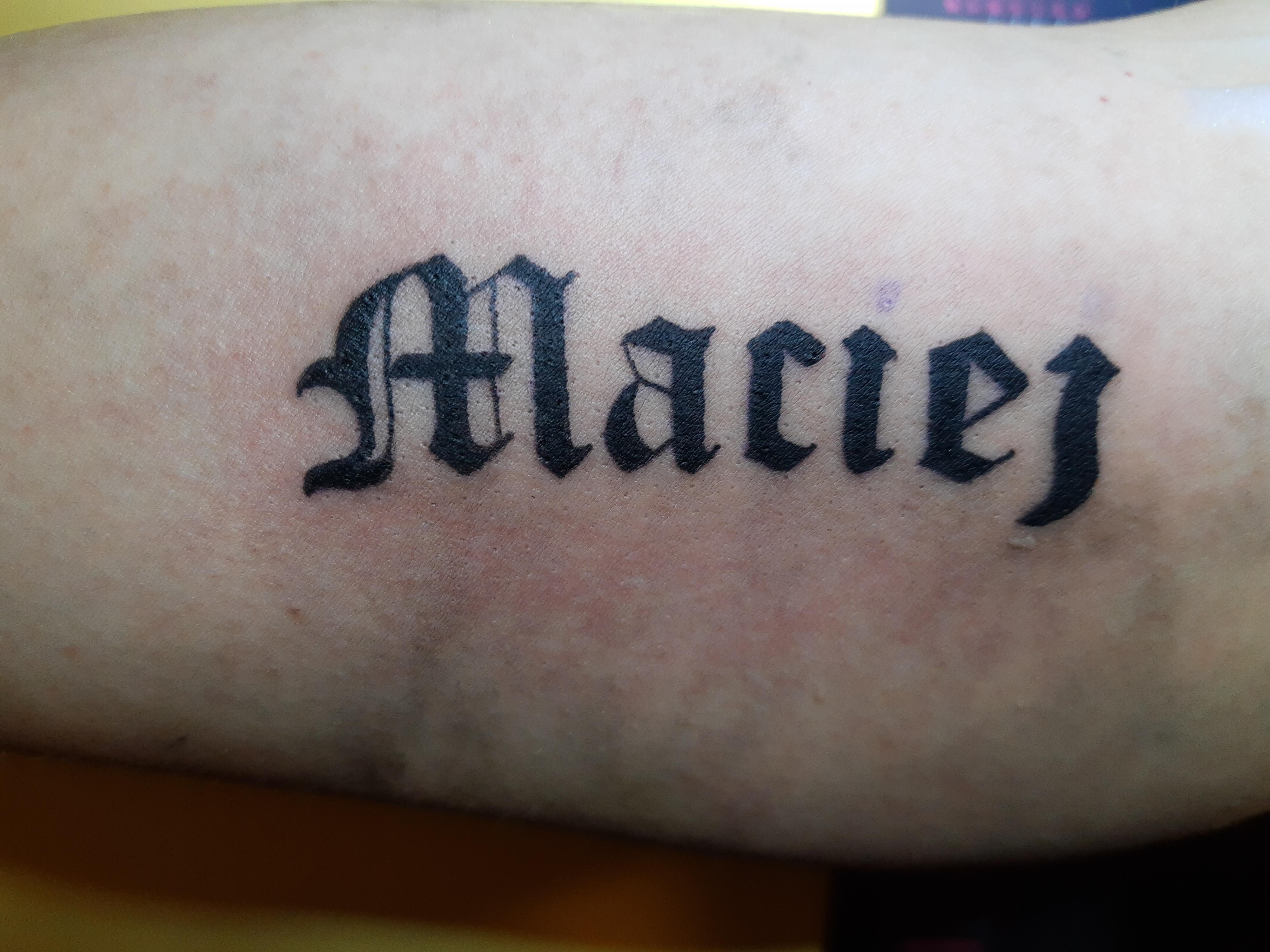 Inksearch tattoo Czarna Krew