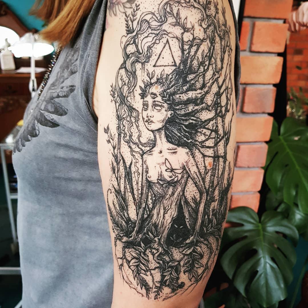 Inksearch tattoo Emily's Moose - Karolina Kubikowska