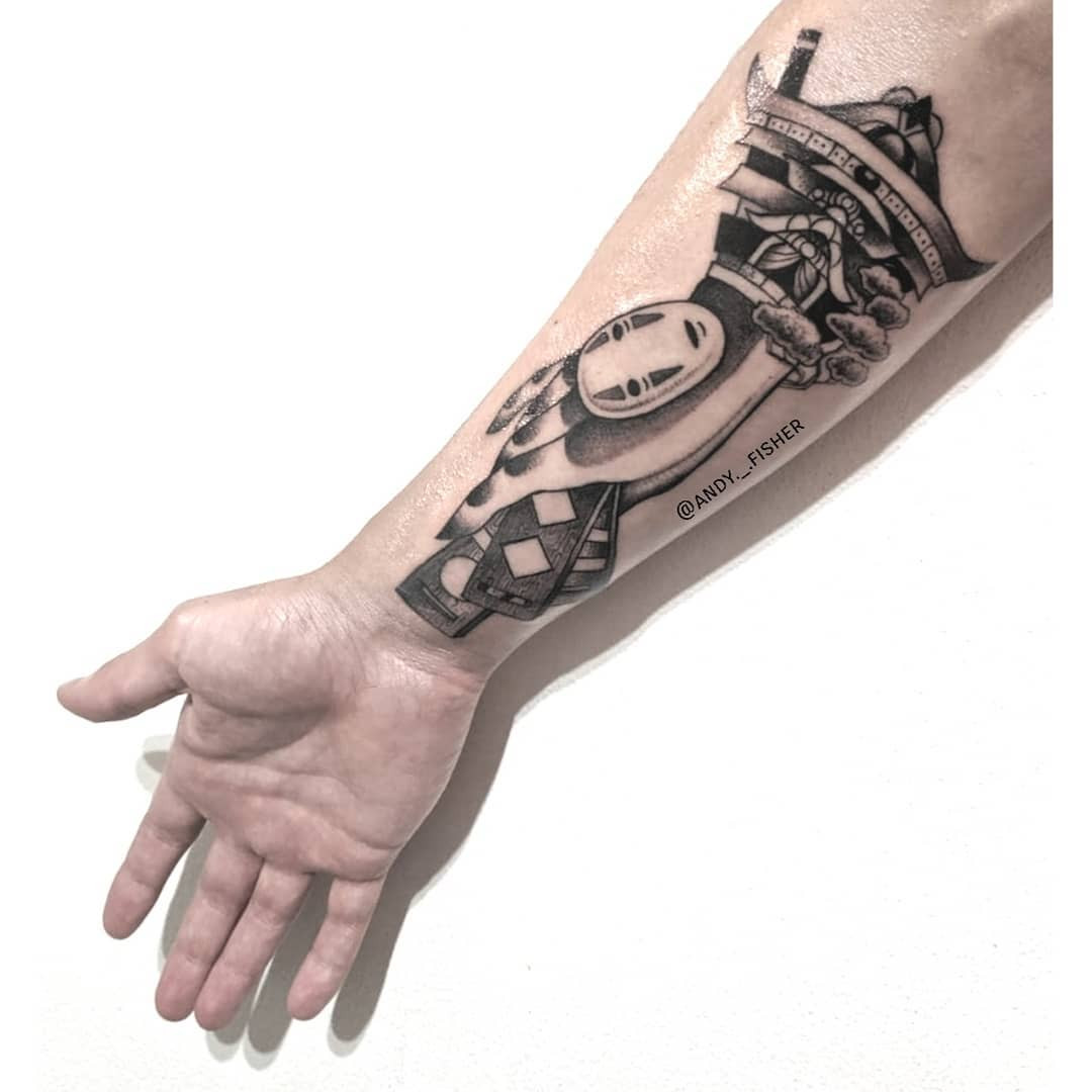 Inksearch tattoo Andy Fisher