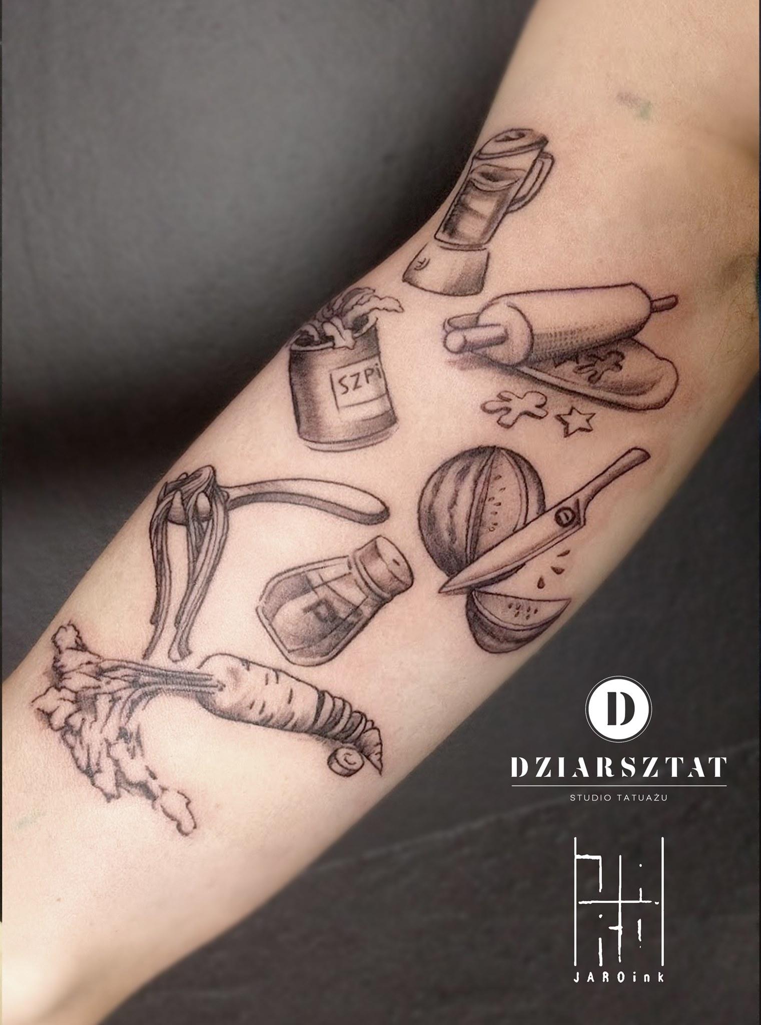 Inksearch tattoo Jarek Bielarski