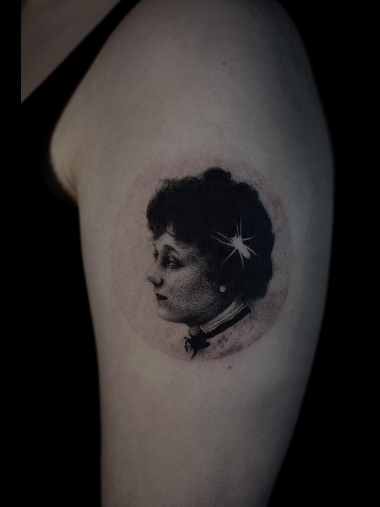 Inksearch tattoo Vinbjörg